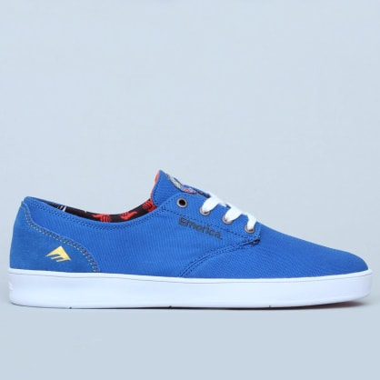 Emerica The Romero Laced X Bro Style Blue / White