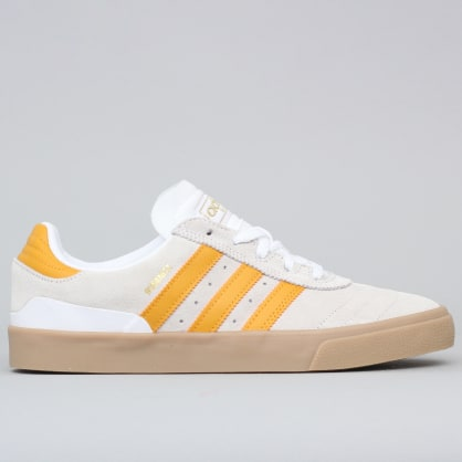 adidas Busenitz Vulc Shoes Footwear White / Tactile Yellow / Gum4
