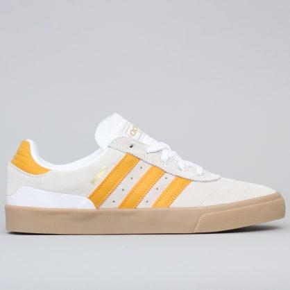 adidas Busenitz Vulc Shoes Footwear White / Tactile Yellow / Gum4