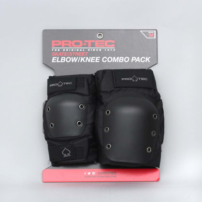 Pro-Tec Street Knee / Elbow Pad Set Black