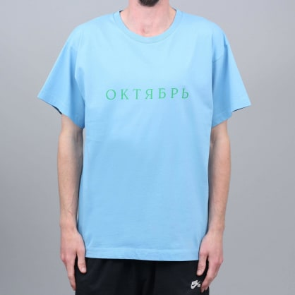 Paccbet Oktyabr T-Shirt Light Blue