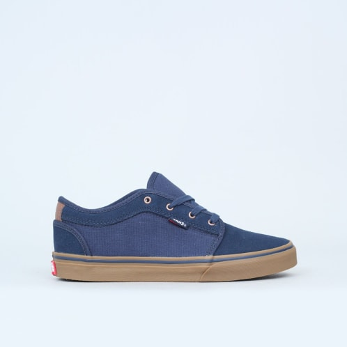 Vans Chukka Low Youth Shoes Rich Navy / Gum
