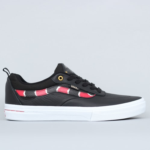 Vans Kyle Walker Pro Shoes (Coral Snake) Black / True
