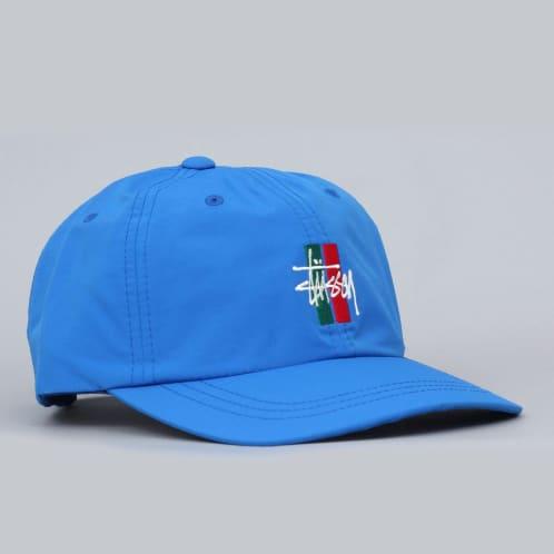 Stussy Bars Logo Low Pro Cap Blue