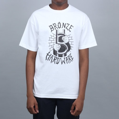 Bronze JailBreak T-Shirt White