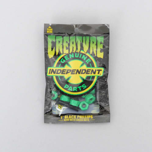 Creature 1 Inch Phillips Indy Bolts Black / Green