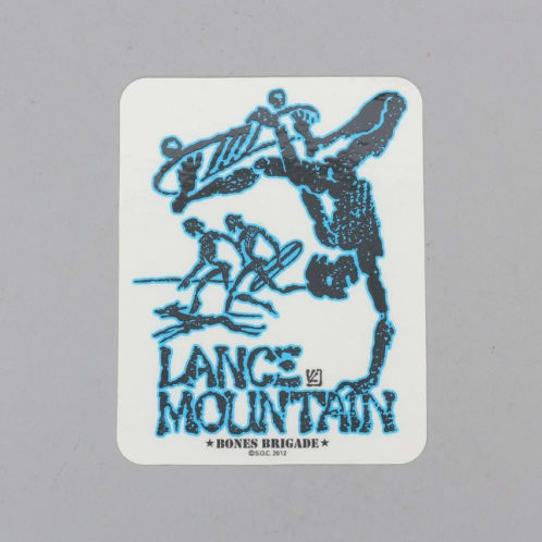Powell Peralta Mountain Bones Brigade Sticker Blue
