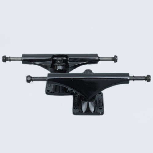 Bullet 130mm Team Skateboard Trucks Black (Pair)