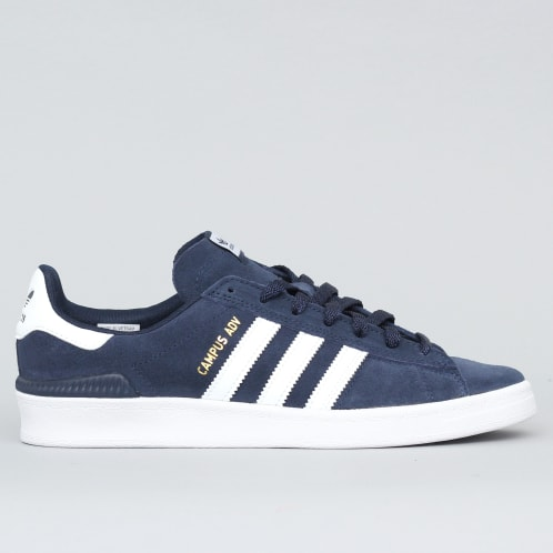 adidas Campus Advance Shoes Collegiate Navy / Footwear White / Footwear White