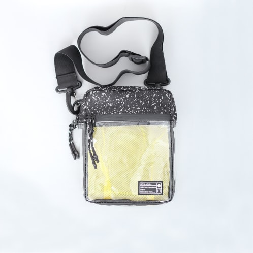 Hex Festival Crossbody Pouch Bag Clear