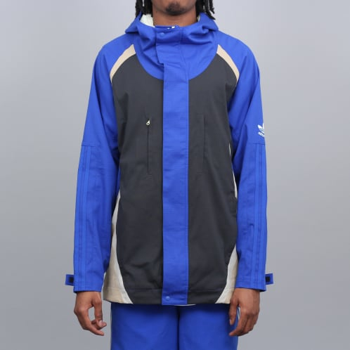 adidas X Alltimers Jacket Bold Blue / Carbon / Hemp