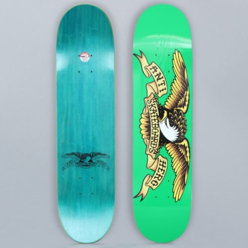 Anti Hero 7.81 Classic Eagle Medium Skateboard Deck Green