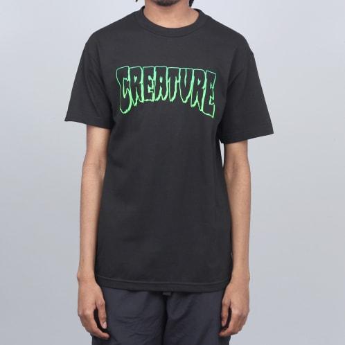 Creature Outline T-Shirt Black