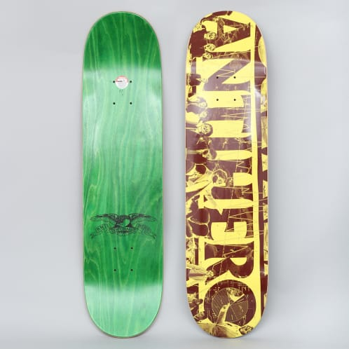 Anti Hero 7.75 Third Quarter Skateboard Deck Banana
