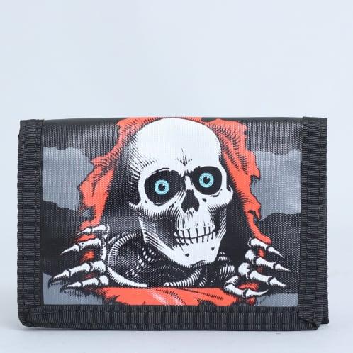 Powell Ripper Tri Fold Wallet Black