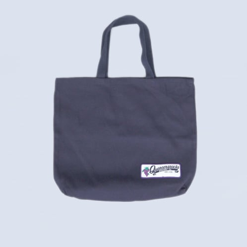 Quartersnacks Grocery Tote Bag Navy Canvas