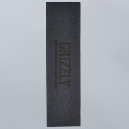 Grizzly Black Stamp Griptape Black