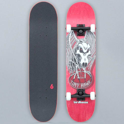 Birdhouse 7.5 Stage 3 Falcon 4 Complete Skateboard Red