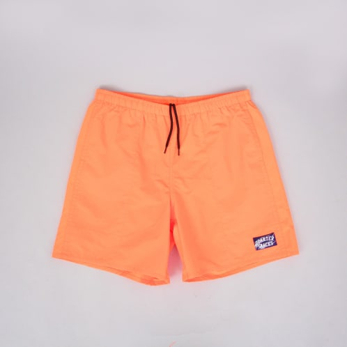 Quartersnacks Water Shorts Neon Orange