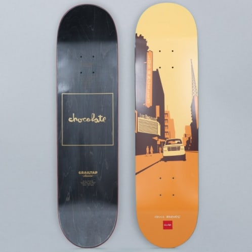 Chocolate 8.25 Chico Brenes Crailtap Classic The City Skateboard Deck