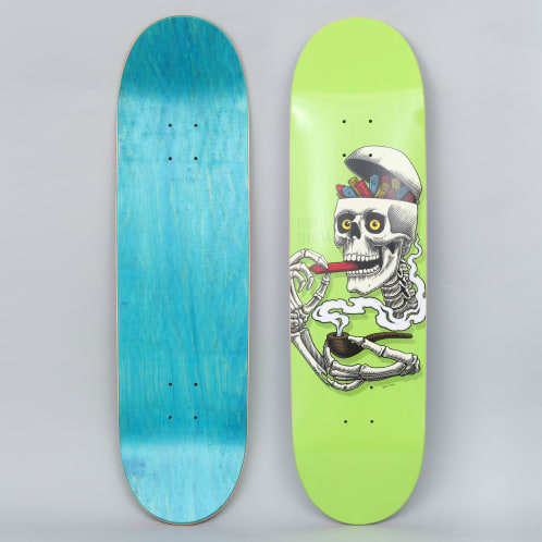Powell Peralta 8.5 Curb Skelly Skateboard Deck Lime