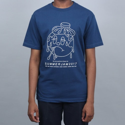 Bronze Summerjam T-Shirt Blue