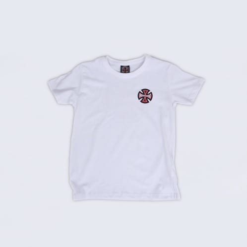 Independent 2 Colour TC Youth T-Shirt White