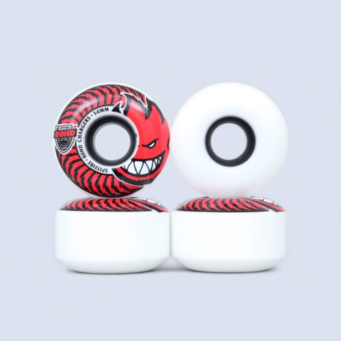 Spitfire 54mm 80HD Chargers Classic Soft Wheels White