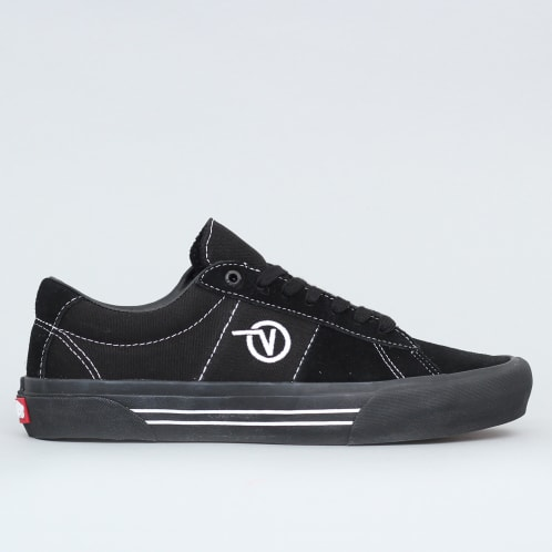 Vans Saddle Sid Pro Shoes Black / Black / White