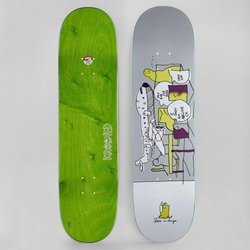 Krooked 8.25 Sebo Free Air Full Skateboard Deck