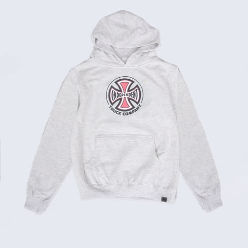 Independent Truck Co Youth Hood Heather Grey