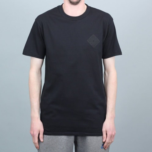 The National Skate Co Mono Logo T-Shirt Black