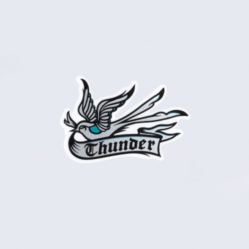 Thunder Thunderbird Sticker