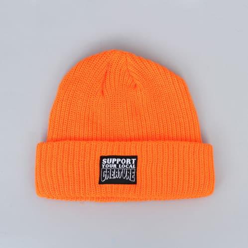 Creature Support Longshoreman Beanie Safety Orange