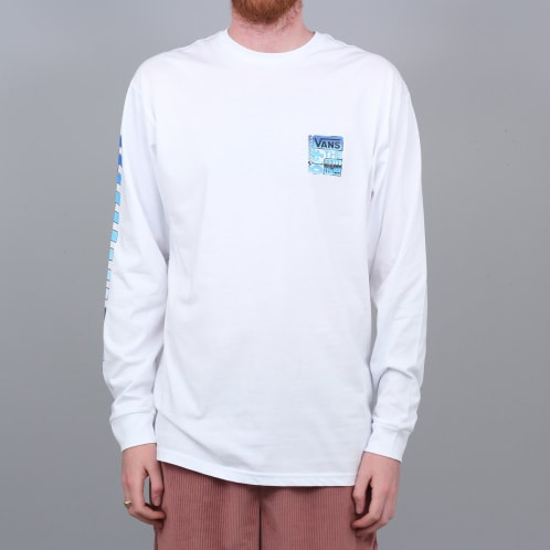 Vans AVE Chrome Longsleeve T-Shirt White