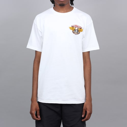 Powell Peralta Winged Ripper T-Shirt White