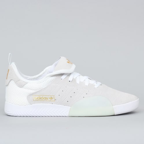 adidas 3ST.003 Shoes Footwear White / Blue Tint / Gold Metallic