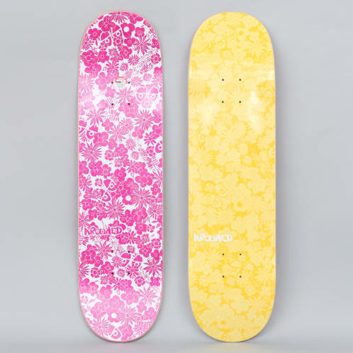 Krooked 8.25 Guardin Skateboard Deck Yellow