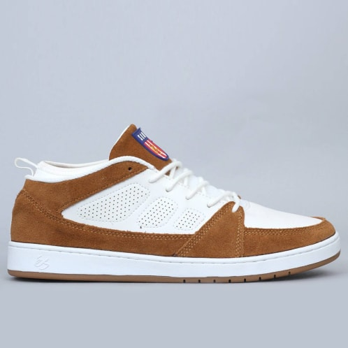 eS SLB Mid Shoes White / Tan