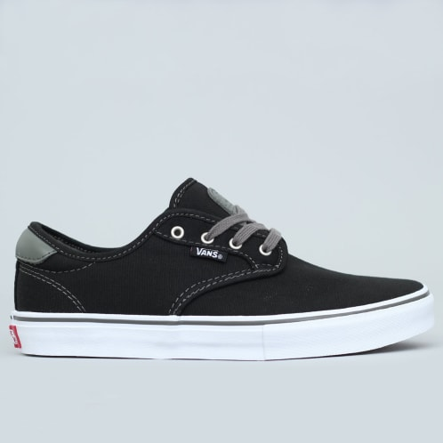 Vans Chima Pro Youth Shoes Black / Charcoal / White