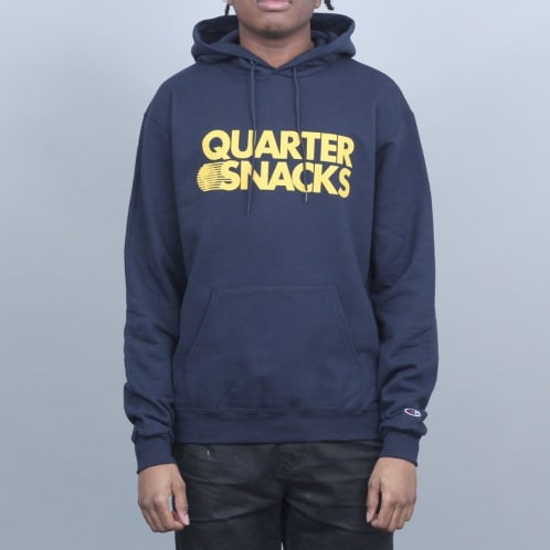 Quartersnacks Journalist Champion Hood Navy