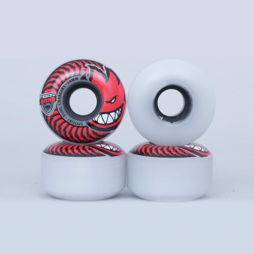 Spitfire 54mm 80HD Classic Chargers Soft Wheels Clear