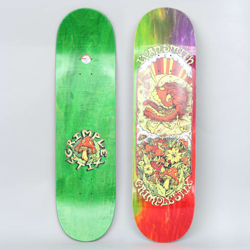 Anti Hero X Grimple Stix 8.5 Evan Smith Before Skateboard Deck