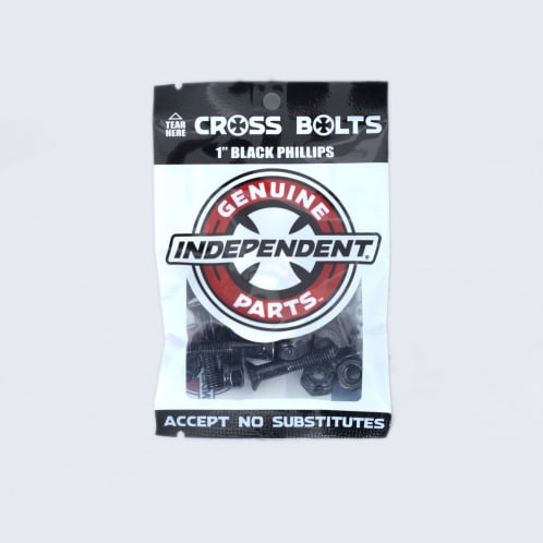 Independent 1 Phillips Bolts Black