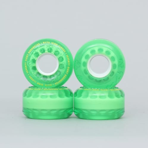 Ricta 52mm 78A Crystal Clouds Wheels Green