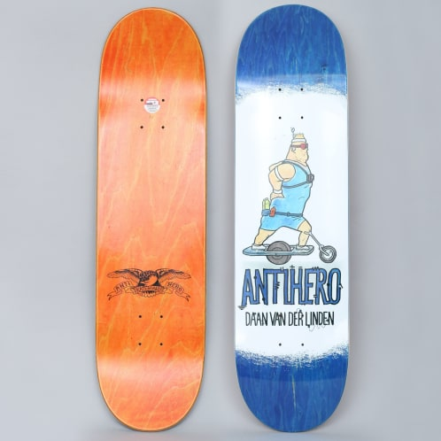 Anti Hero 8.38 Daan Electric Luxuries Skateboard Deck