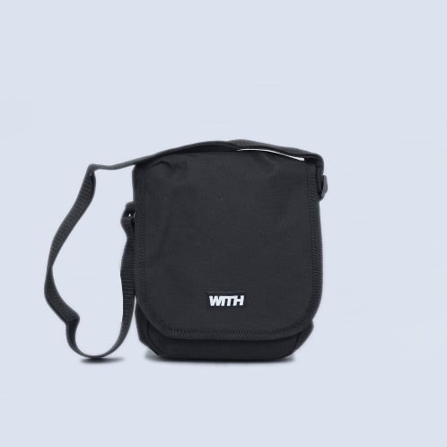WITH Pouch Bag Black
