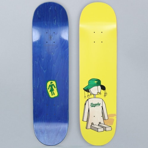 Girl 8.25 Andrew Brophy Bugger Skateboard Deck
