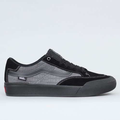 Vans Berle Pro Shoes (Croc) Black / Pewter