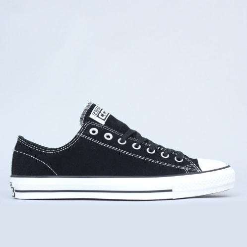 Converse CTAS Pro OX Shoes Black / White Suede
